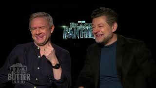 Black Panther: Martin Freeman and Andy Serkis break it down