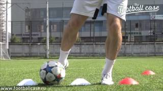 Дела футбольные. Техническая подготовка. Требование к удару - приземление опорной ноги