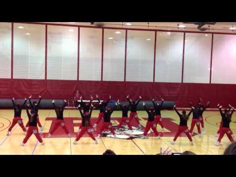 Boston University Dance Team Hip Hop 2014