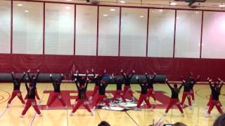 Boston University Dance Team Hip Hop 2014
