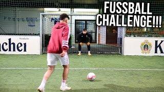 ULTIMATIVE ELFMETER FUßBALL CHALLENGE !!!