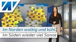 Zweigeteiltes Wetter (Mod.: Michaela Koschak)