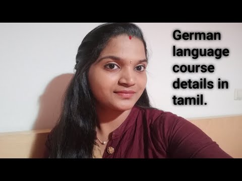 German Language Course Details In Tamil | How To Join German Course In Germany TAMIL
