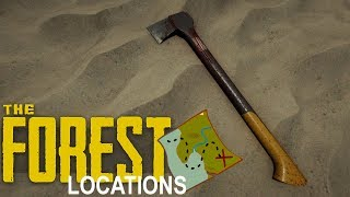 MODERN AXE LOCATION! - The Forest - v.0.61c