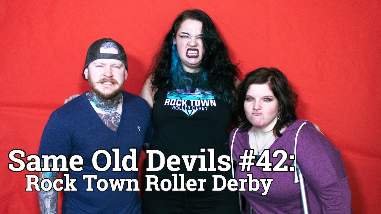 #42: Araya and Rebecca (Rock Town Roller Derby)