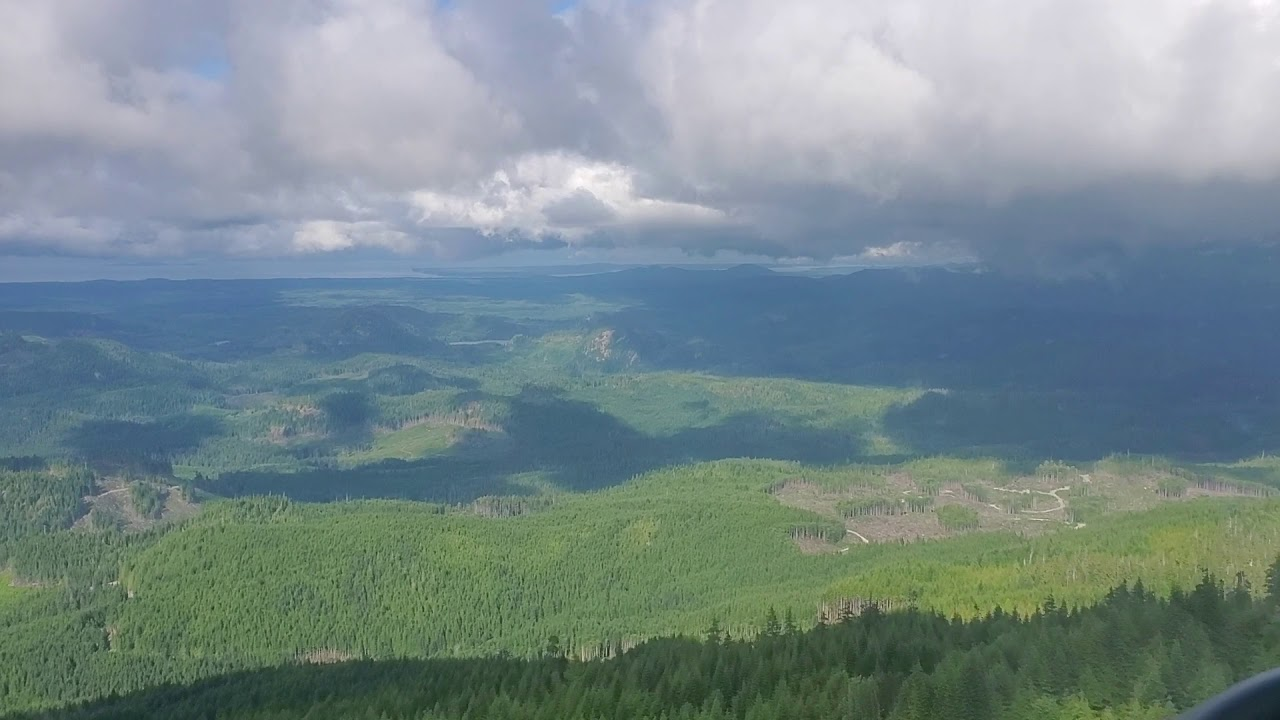 A forestry fly-over of Kwakiutl Traditional Territory