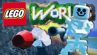 Lego Worlds | I FOUND A GUN!! [#2]