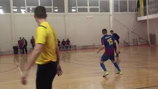 Красный Рак Виоком Орбита 1 тайм Чемпионат мини футбол 2020 21