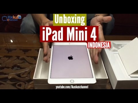 Unboxing & Review iPad Mini 4 Indonesia - iDevice.id