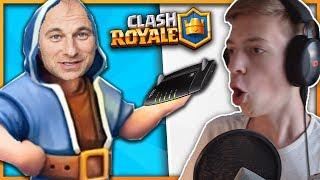 MARCEL DAVIS spielt CLASH ROYALE! ★ ClashGames Reaktion ★ Clash Royale deutsch