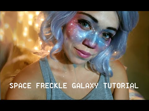 Space makeup tutorial youtube for Space tutorial