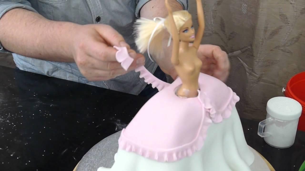 Fairy Barbie Cake Tutorial Preview Paul Bradford