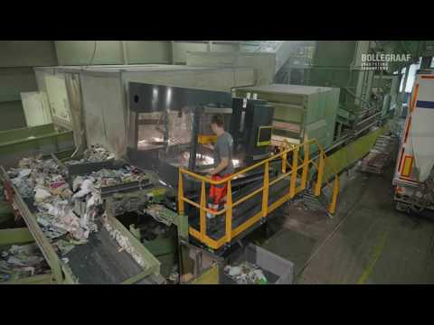 Bollegraaf RoBB-AQC Automated Robotic Sorter for Recycling S