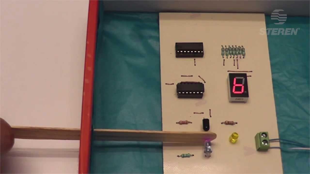 Video Del Proyecto 23 Contador Por Medio De Sensor