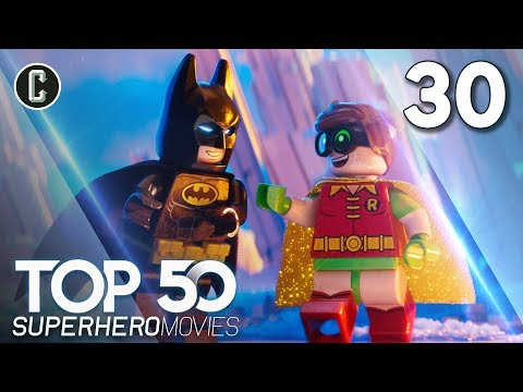 Top 50 Superhero Movies: The LEGO Batman Movie - #30
