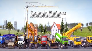 Construction Simulator 2015 #1 Budujemy dom oraz drift.... Polski Gameplay