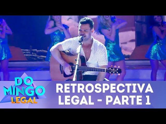 Celso Portiolli e Eduardo Costa na Retrospectiva Legal 2018 - Parte 1 | Domingo Legal (30/12/18)