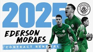 EDERSON SIGNS A CONTRACT UNTIL 2025   Exclusive Interview