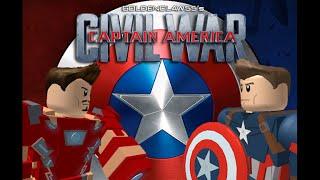 ROBLOX: Captian America:Civil war/Captain America vs Iron Man (Parte 1)