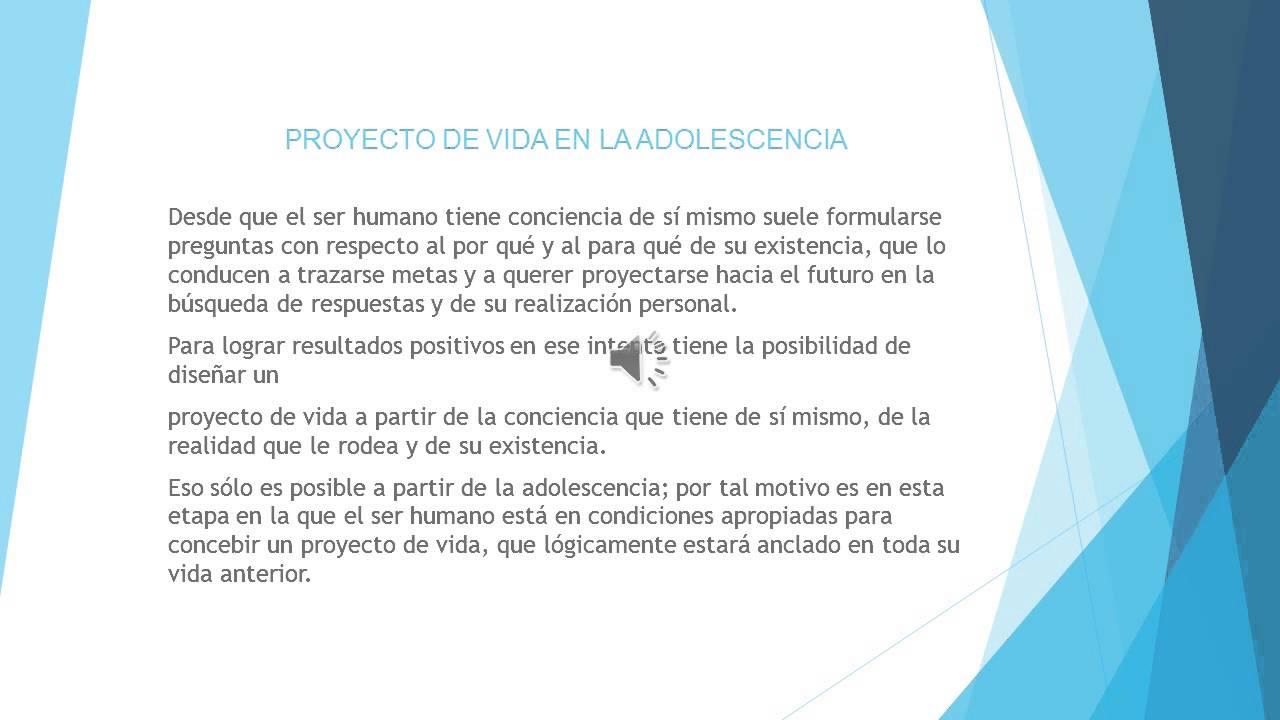 Proyecto De Vida Pdf Youtube