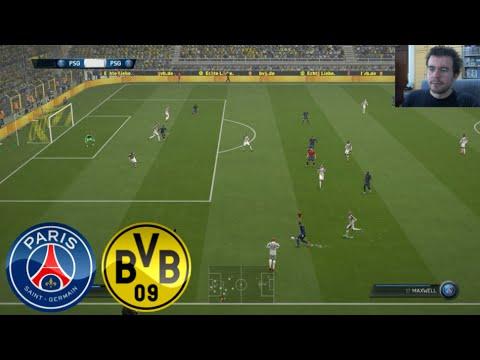 Psg Vs Borussia Dortmund Fifa 15 Online 2 Pc En