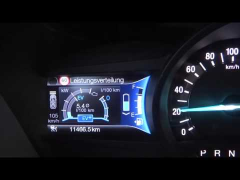 Ford Mondeo Hybrid Drive - Electric Drive - brake energy regeneration