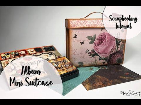 Scrapbooking Album - Mini Suitcase