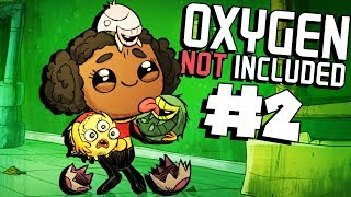 Beginning the Ranch!- Ep. 2 - Oxygen Not Included Ranching Upgrade Mark II - ONI Gameplay