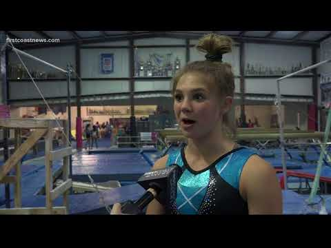 First Coast teen representing Florida at national gymnastics competition