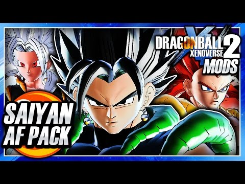 Dragon Ball Xenoverse 2 PC: Saiyan Warriors SSJ5 DLC Pack (12 NEW CHARACTERS DBAF) Mod Gameplay