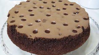Торт ШОКОЛАДНАЯ МЕЧТА САМЫЙ МЯГКИЙ и СОЧНЫЙ в МИРЕ ТОРТ ТОРТ САМ КАК КРЕМ Castella Cake