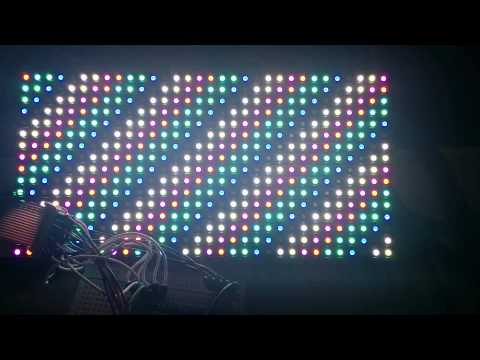 RGB フルカラー ドットマトリクス LEDパネル | Doovi