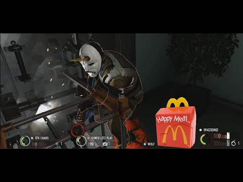 Never eat McNuggets during a bank heist (getting PAID in Pay Day 2)