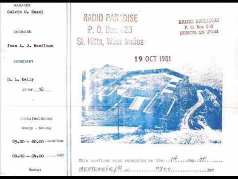 Radio Paradise 825 kHz St. Kitts, West Indies