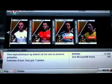 Fifa 12 ultimate team microsoft points not working — photo 1