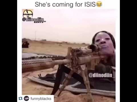 She's coming for ISIS
