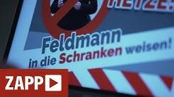 Neo-Nazis rufen zur Demo gegen Journalisten auf | ZAPP | NDR