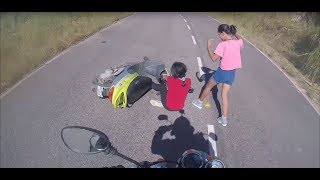 Extremely Close Calls, Road Rage, Crashes & Scary Motorcycle Accidents [EP #67]