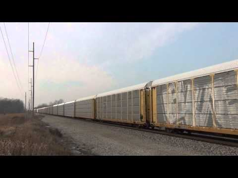 CP 8632 East near Montpelier, OH 12/1/13 (HD)