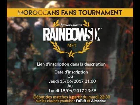 Rainbow Six Siege : Moroccan Fans Tournament MTG  Vs NT 4éme Journée