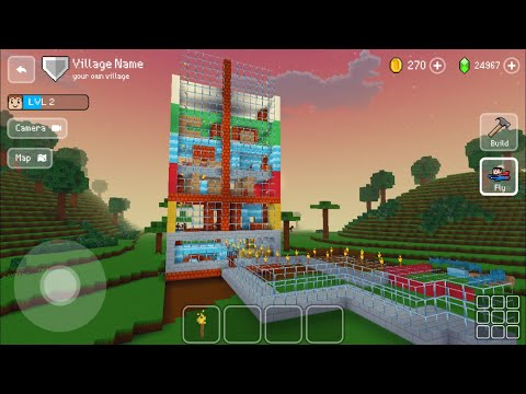 Block Craft 3D : Building Simulator Games For Free Gameplay#434 (iOS & Android) | Villa