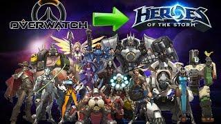 Герои Overwatch в Heroes of the Storm