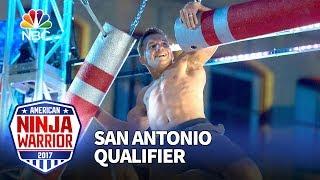 Jonathan Horton at the San Antonio Qualifiers - American Ninja Warrior 2017
