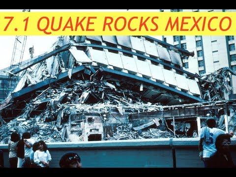 Mexico City Rocked by Earthquake, 7.1 Magnitude, Latest, Updates, 9/9/17