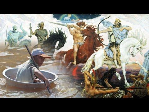 El cuarto jinete de Apocalipsis, el caballo pálido de muerte y pestilencia.