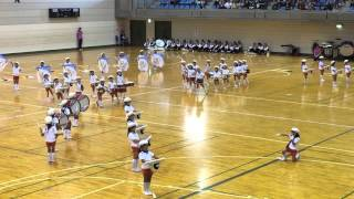 Kindergarten Kids Japan Marching Festival
