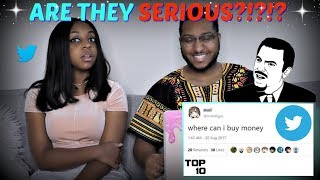 Top 10 Dumbest Tweets - Part 39 REACTION!!
