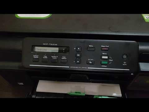 Solution To Bad Quality Prints Brother Print Head Automatic Cleaning On All Brother Inkjet Printer
