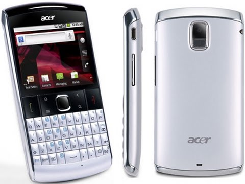 Acer beTouch E210 Hard Reset and Forgot Password Recovery, Factory Reset