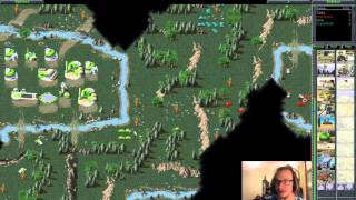 Command & Conquer (C&C95) Multiplayer with Irwe #03 - 4 Player FFA